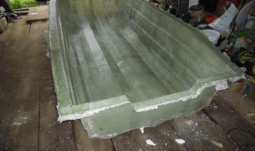 Видео изготовление лодок из стеклопластика своими руками