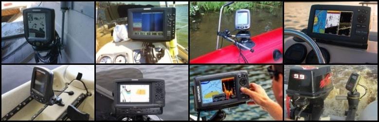 Как выбрать эхолот для ловли с лодки