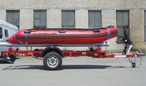 прицеп для надувной лодки