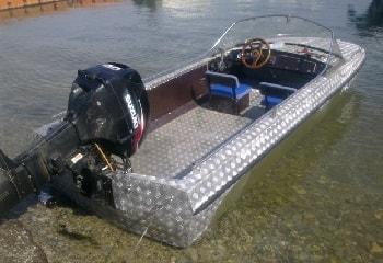 Ремонт и тюнинг алюминиевой лодки