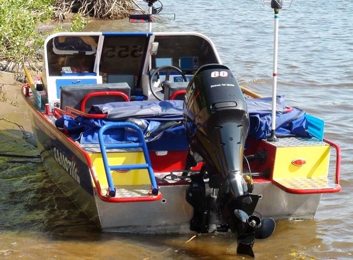 Тюнинг алюминиевой лодки