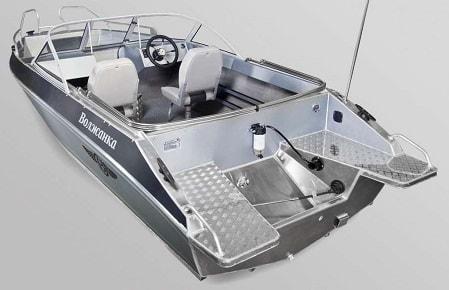 алюминиевая лодка - Волжанка