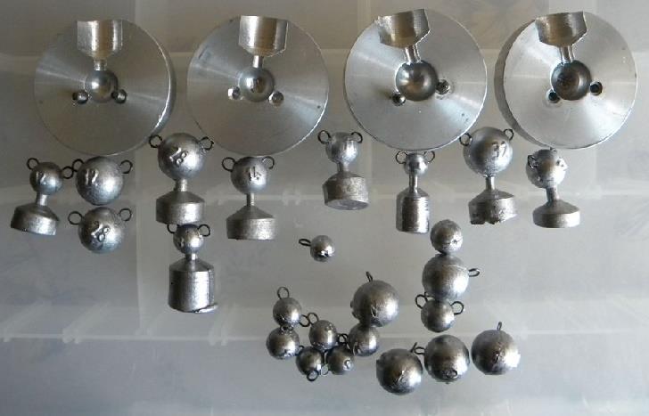 Алюминиевые формы для литья грузиков