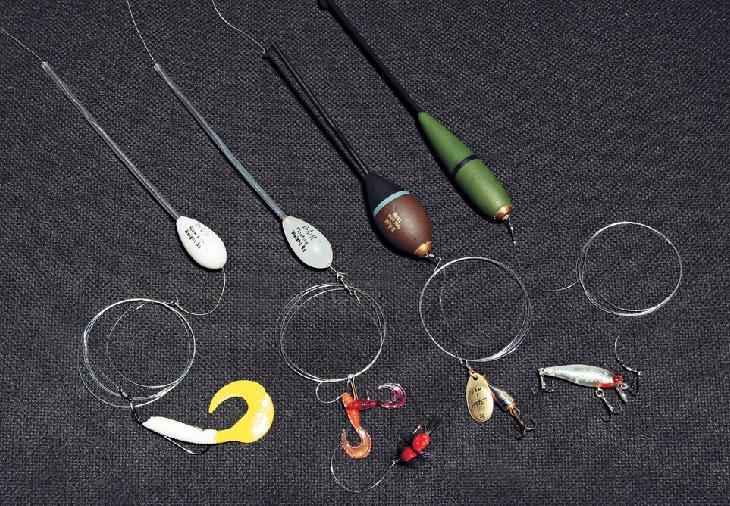 Какие снасти и оснастки использовать для ловли жереха