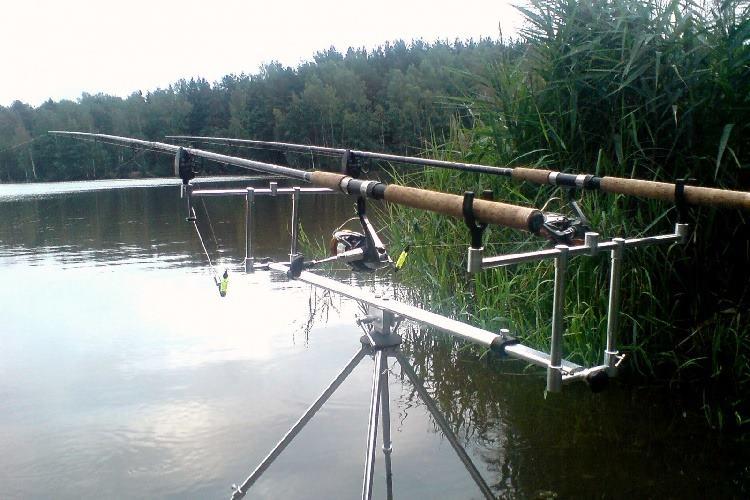 рыболовные подставки