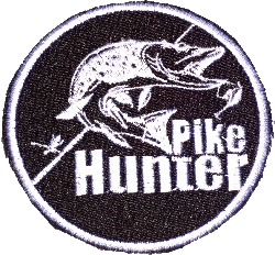 "Нашивка ""Pike Hunter (пайк хантер)"""